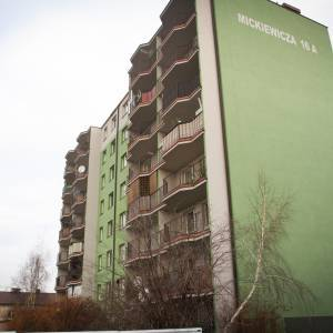 Budynek przy ul. Adama Mickiewicza 16a